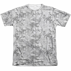 Power Rangers Ninja Steel Shirt Helmets Poly/Cotton Sublimation Shirt