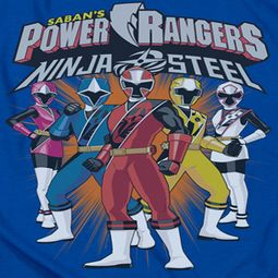 Power Rangers Ninja Steel Team Shirts