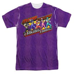 Power Rangers Shirt Taking Charge Sublimation Shirt