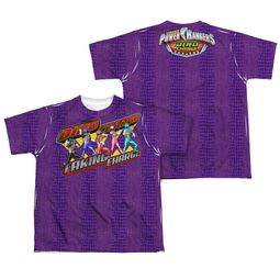 Power Rangers Shirt Taking Charge Sublimation Youth Shirt