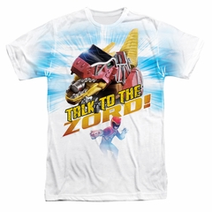 Power Rangers Shirt Zord Sublimation Shirt