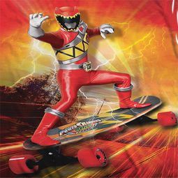 Power Rangers Skating Sublimation Shirts