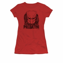 Predator Shirt Juniors Logo Red T-Shirt