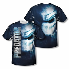 Predator Shirt Mask Sublimation Shirt Front/Back Print