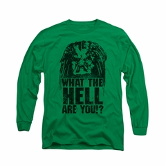 Predator Shirt What Are You Long Sleeve Kelly Green Tee T-Shirt