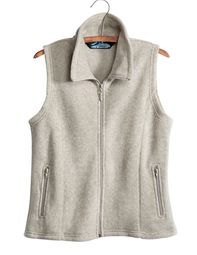 Tri Mountain Premium Quality Ladies Vest - Micro Fleece Crescent