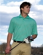 Premium Quality Men's 100% Spun Polyester Collegian Sport Golf Shirt