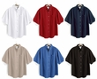 Tri Mountain Premium Quality Men's Tall Sizes Easy Care Mentor Short Sleeve Shirt