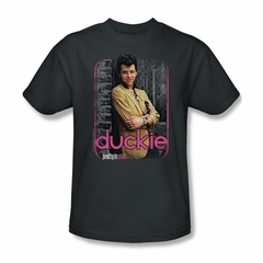 Pretty In Pink Shirt Just Duckie Adult Charcoal Tee T-Shirt