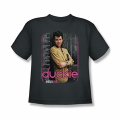 Pretty In Pink Shirt Kids Just Duckie Charcoal Tee T-Shirt