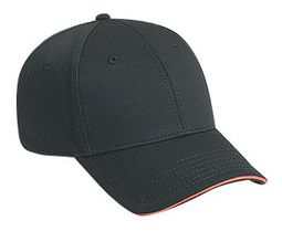 Professional Style Cotton Hat � Sandwich Visor Adjustable Cap