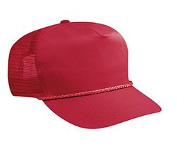 Professional Style Mesh Hat � High Crown Adjustable Golf Cap