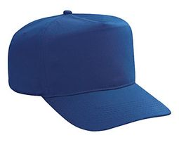 Professional Style Polyester Hat � High Crown Adjustable Golf Cap