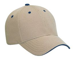Dad Hat � Sandwich Visor Adjustable Cap