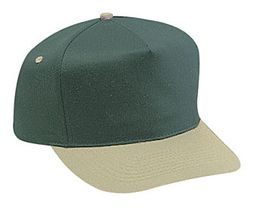 Professional Style Two Tone Hat � Adjustable Baseball Cap