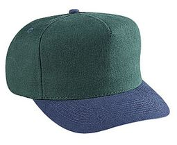 Professional Style Two Tone Hat � Cotton Adjustable Golf Cap