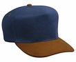 Professional Style Two Tone Hat – Denim Low Crown Adjustable Golf Cap