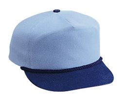 Professional Style Two Tone Hat � Denim Low Crown Adjustable Golf Cap