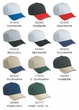 Professional Style Two Tone Hat – Sandwich Visor Adjustable Cap