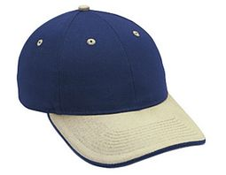 Professional Style Two Tone Hat � Sandwich Visor Adjustable Cap