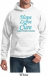 Prostate Cancer Awareness Hope Love Cure Hoodie