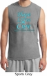 Prostate Cancer Awareness Hope Love Cure Muscle Shirt