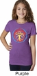 Psychedelic Peace Girls Shirt