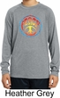 Psychedelic Peace Kids Dry Wicking Long Sleeve Shirt