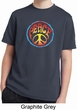 Psychedelic Peace Kids Moisture Wicking Shirt