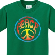 Psychedelic Peace Kids Shirts