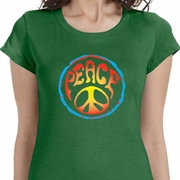 Psychedelic Peace Ladies Shirts