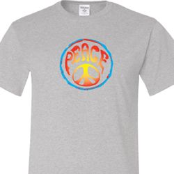 Psychedelic Peace Mens Shirts