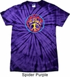 Psychedelic Peace Spider Tie Dye Shirt