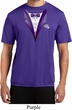 Purple Tuxedo Mens Moisture Wicking Shirt