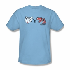 Puss N Boots Shirt Characters Light Blue T-Shirt