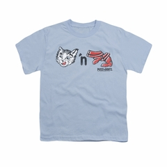 Puss N Boots Shirt Kids Characters Light Blue T-Shirt