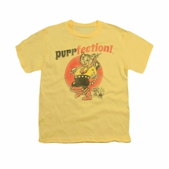 Puss N Boots Shirt Kids Purrfection Banana T-Shirt