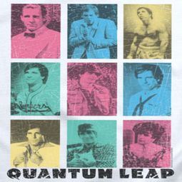 Quantum Leap Faces Shirts