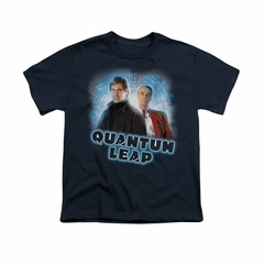 Quantum Leap Shirt Kids Sam And Al Navy T-Shirt