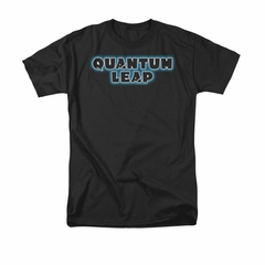 Quantum Leap Shirt Logo Black T-Shirt