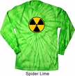 Radiation Long Sleeve Tie Dye Shirt