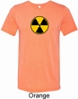 Radiation Mens Tri Blend Crewneck Shirt