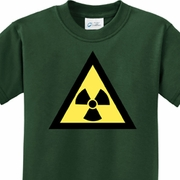 Radioactive Triangle Kids Fallout Shirts