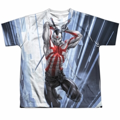 Rai Valiant Comics Cyber Jump Sublimation Youth Shirt