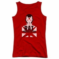Rai Valiant Comics Juniors Tank Top Protector Red Tee Tanktop