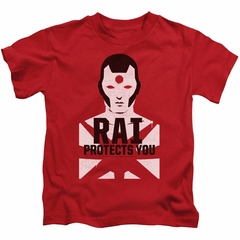 Rai Valiant Comics Kids Shirt Protector Red Tee T-Shirt