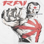 Rai Valiant Comics Sword Drawn Shirts