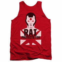 Rai Valiant Comics Tank Top Protector Red Tee Tanktop