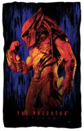 """Rain"" Predator Movie Microfiber Fleece Blanket - 36"" X 58"""