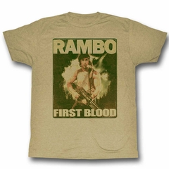 Rambo Shirt First Blood Sand T-Shirt